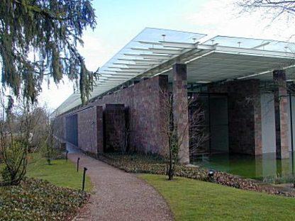 Musée de la Fondation Beyeler à Riehen, Bâle, 1991-1997. Renzo Piano