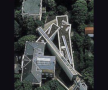 Musée Felix Nussbaum, Osnabrück, Allemagne, 1994. Daniel Libeskind