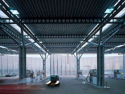 Samyn and Partners,<br> Station-service d'Houten, Hollande