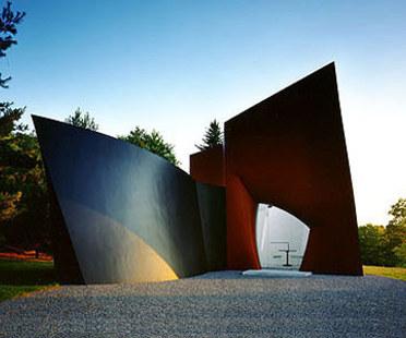 Philip Johnson: pavillon pour les visiteurs, Connecticut