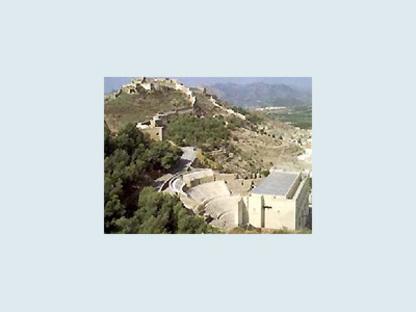 Restructuration du Théâtre romain de Sagunto, Espagne, 1985-1993