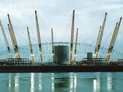 Rogers-Hadid-Imagination<br> Millennium Dome, péninsule de Greenwich, Londres, 1996-1999
