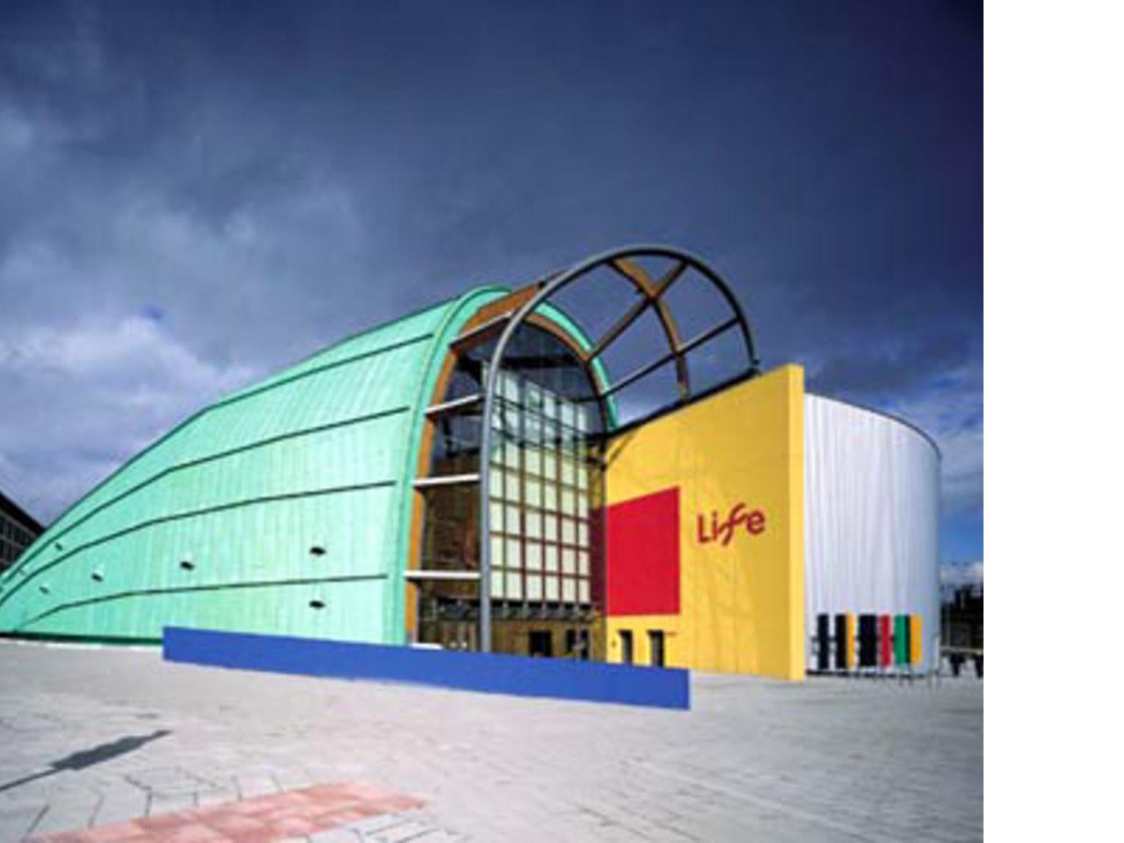 Terry Farrell<br> International Centre for Life, Grande-Bretagne, 1996