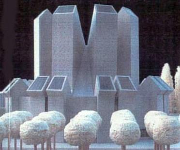 Mario Botta, Église du Santo Volto, Turin, Italie