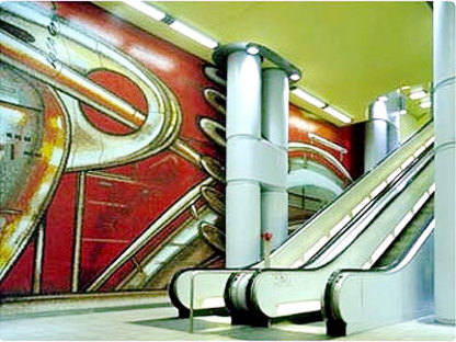 Massimo Iosa Ghini<br>Station de métro de Hanovre