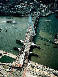 UN Studio: Erasmus Bridge, Rotterdam, 1990-96