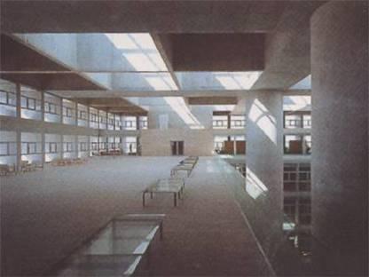 Alberto Campo Baeza Siège central de la Caja General de Ahorros Grenade, Espagne, 2001