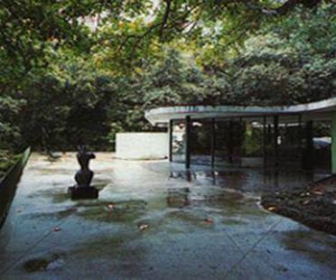 Oscar Niemeyer: maison à Canoas, Brésil, 1953