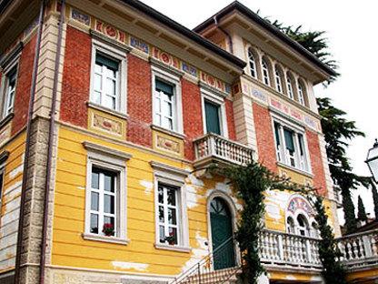 Luigi Ferrari<br> Restructuration de villa liberty à Roè Volciano
