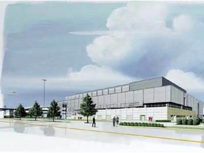 Maranello, deux nouveaux édifices pour la Ferrari.<br> Fuksas et Visconti, 2004