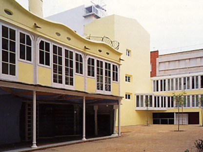 Restructuration et restauration du théâtre Metropol<br>Tarragone<br>1992-1995. Josep Llinàs