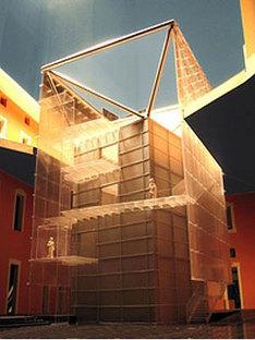 Palais Pepoli, Musée de la ville de Bologne.<br> Mario Bellini. 2004