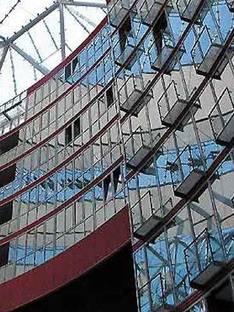 Sony Center - Helmut Jahn<br> Berlin