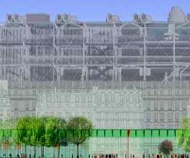 David Mangin. Les Halles. Paris