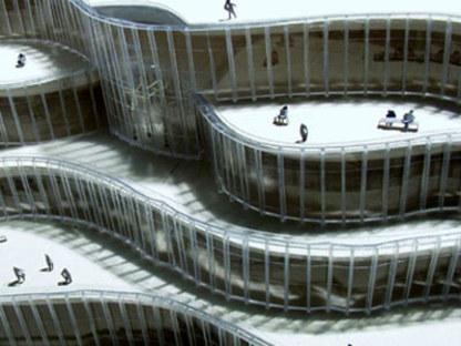 Bibliothèque municipale de Turin <br>Mario Bellini
