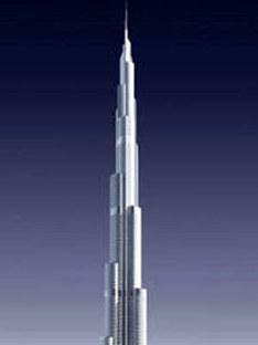 Skidmore, Owings & Merill LLP<br> Burj Dubaï, Dubaï