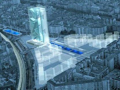 Turin. Nouveau siège de la Région Piémont. Massimiliano Fuksas