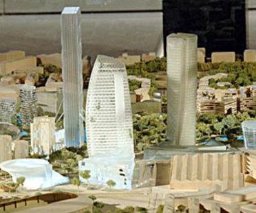Milan. Ancienne foire-échantillon<br> City Life. Libeskind, Hadid, Isozaki, Maggiora. 2004