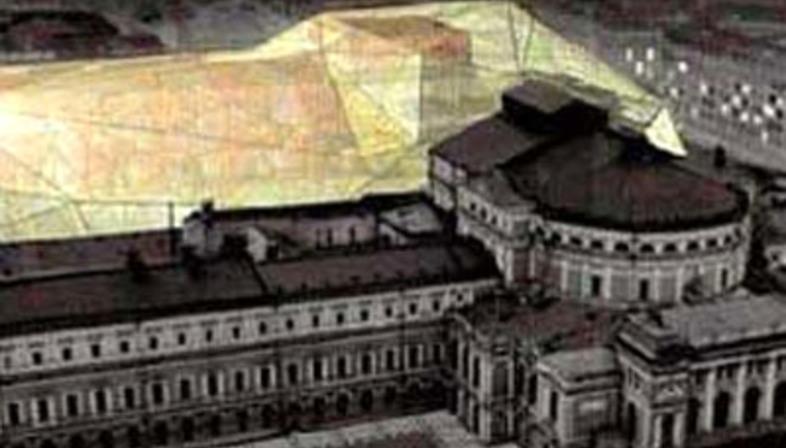 Dominique Perrault<br> Agrandissement du Théâtre Mariinskij <br>Saint-Pétersbourg