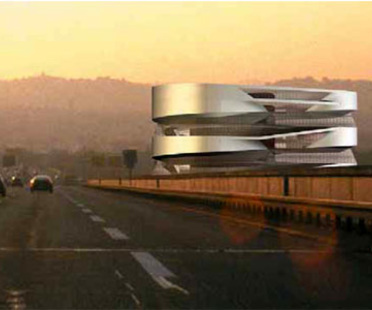 Mercedes-Benz Museum à Stuttgart.<br> UN Studio