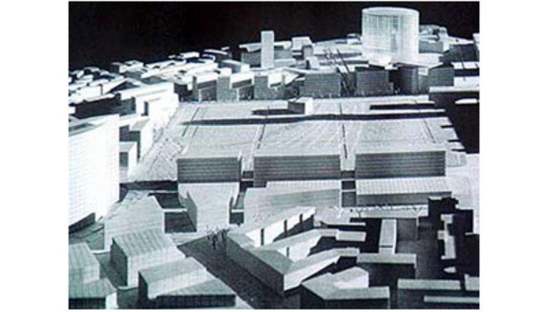 Milan, Projet Garibaldi-Repubblica.<br> Cesar Pelli. 2004
