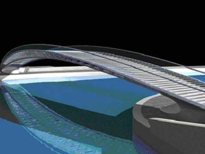 Pont Calatrava <br>Venise 2004
