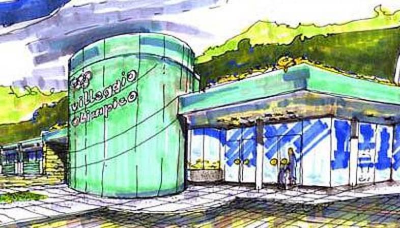 Villaggio Olimpico di Sestriere ed ex Colonia Medail. 2005