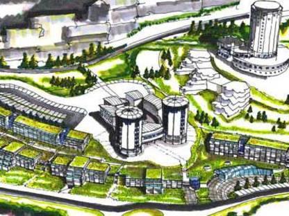 Village olympique de Sestriere et ancienne colonie Medail. 2005