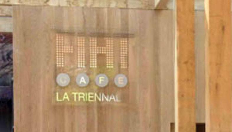 Milan. Fiat Café La Triennale. Michele De Lucchi. 2004