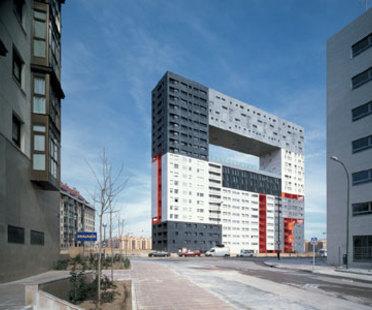 &Eacute;difice pour habitations Mirador<br> MVRDV + Blanca Le&oacute;<br> Madrid, 2005