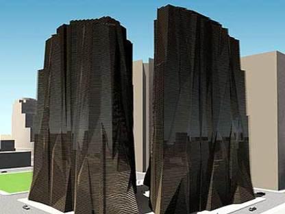 Emilio Ambasz, Monument Tower. Phoenix (Arizona). 1998