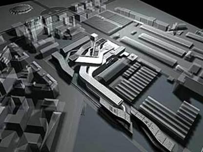 MAXXI-Centre national pour les Arts contemporains. Zaha Hadid. Rome