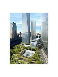 Reflecting Absence. Michael Arad<br /> New York. 2004