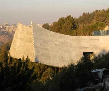 New Holocaust History Museum à Yad Vashem, Moshe Safdie