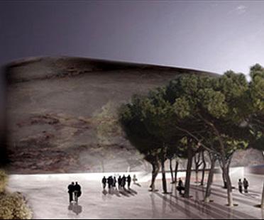Venise. Nouveau Palais du Cinéma<br> 5+1 et Rudy Ricciotti. 2005