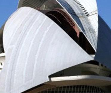Valence. Palais des Arts<br> Santiago Calatrava. 2005