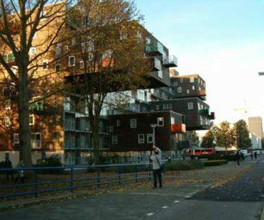 MVRDV, WoZoCo's Apartments for Elderly People, Amsterdam, Pays-Bas, 1997