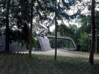 Agrandissement du Musée Ordrupgaard. Zaha Hadid. Ordrup, 2005