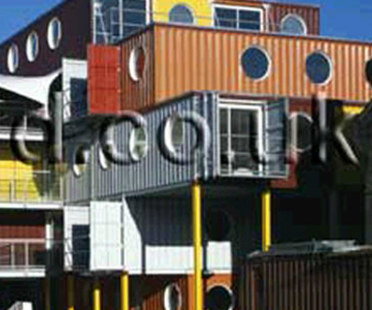 Container City. Nicholas Lacey & Partner. Londres. 2002