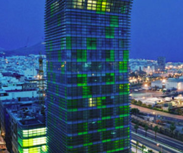 Torre Woermann, Ábalos & Herreros. <br />Las Palmas (Grande Canarie). 2004
