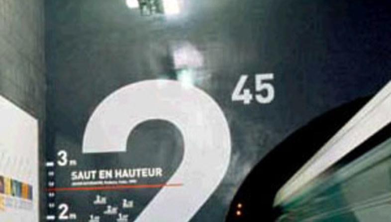 Station de métro Villejuif Léo Lagrange, Mario Cucinella.<br /> Paris, France. 2000