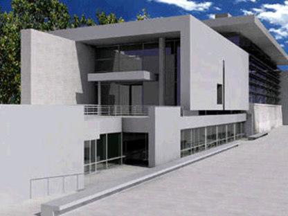 Musée de l'Ara Pacis. Richard Meier. Rome. 2006