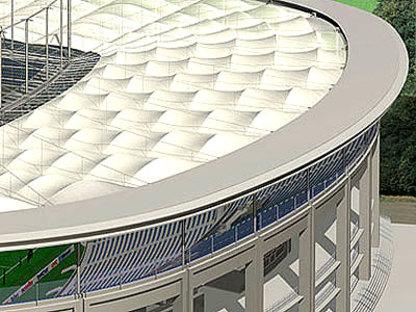 Commerzbank Arena, von Gerkan Marg & Partner Francfort, 2005