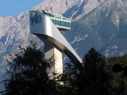 Tremplin de saut à ski, Zaha Hadid. Bergisel (Autriche). 2002