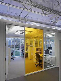 Google Headquarters, Clive Wilkinson Architects. Mountain View, Californie. 2005