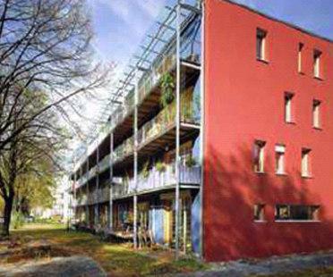 Wohnen & Arbeiten, Fribourg. Id-Architekur. 1999