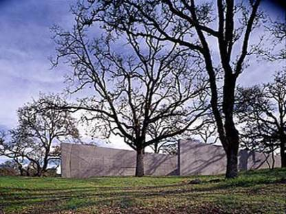 Visiting Artists House - Jim Jennings Architecture<br /> Geyserville, Californie, 2003
