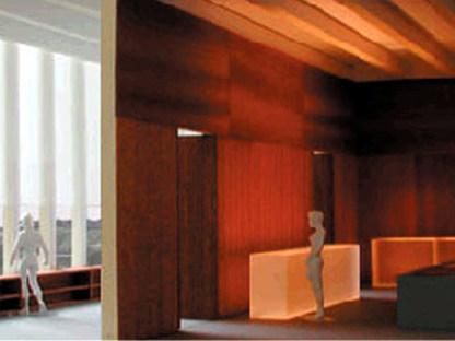 David Chipperfield. Musée de la Littérature moderne. Marbach am Neckar.<br />