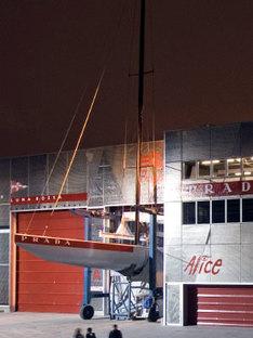 Renzo Piano. Base de Luna Rossa. Valence, 2006