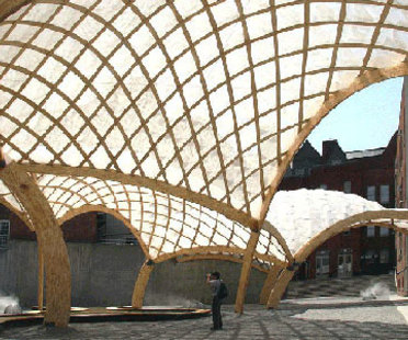 Obra Architects, Pavillon temporaire du PS 1. New York. 2006